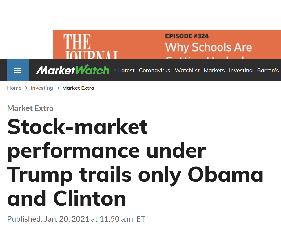 gallery/screenshot_2021-01-20 stock-market performance under trump trails only obama and clinton(1)